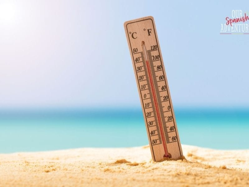 tips to keep cool in the spanish summer